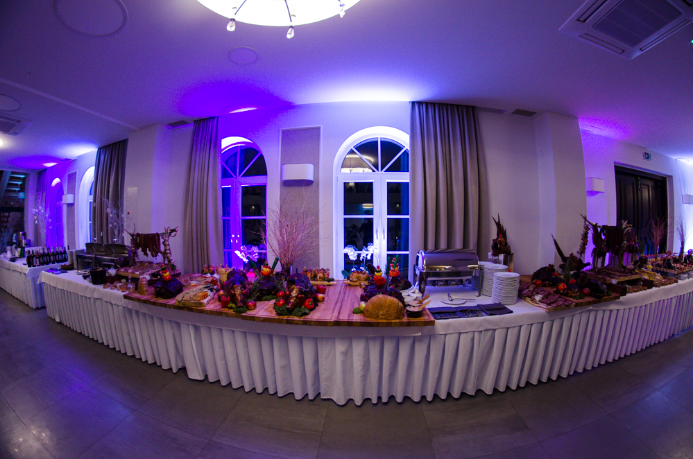 Gościniec w Czuszowie - dekoracja światłem