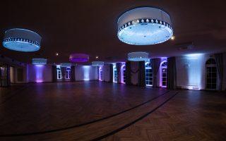 Dekoracja światłem - Gościniec w Czuszowie