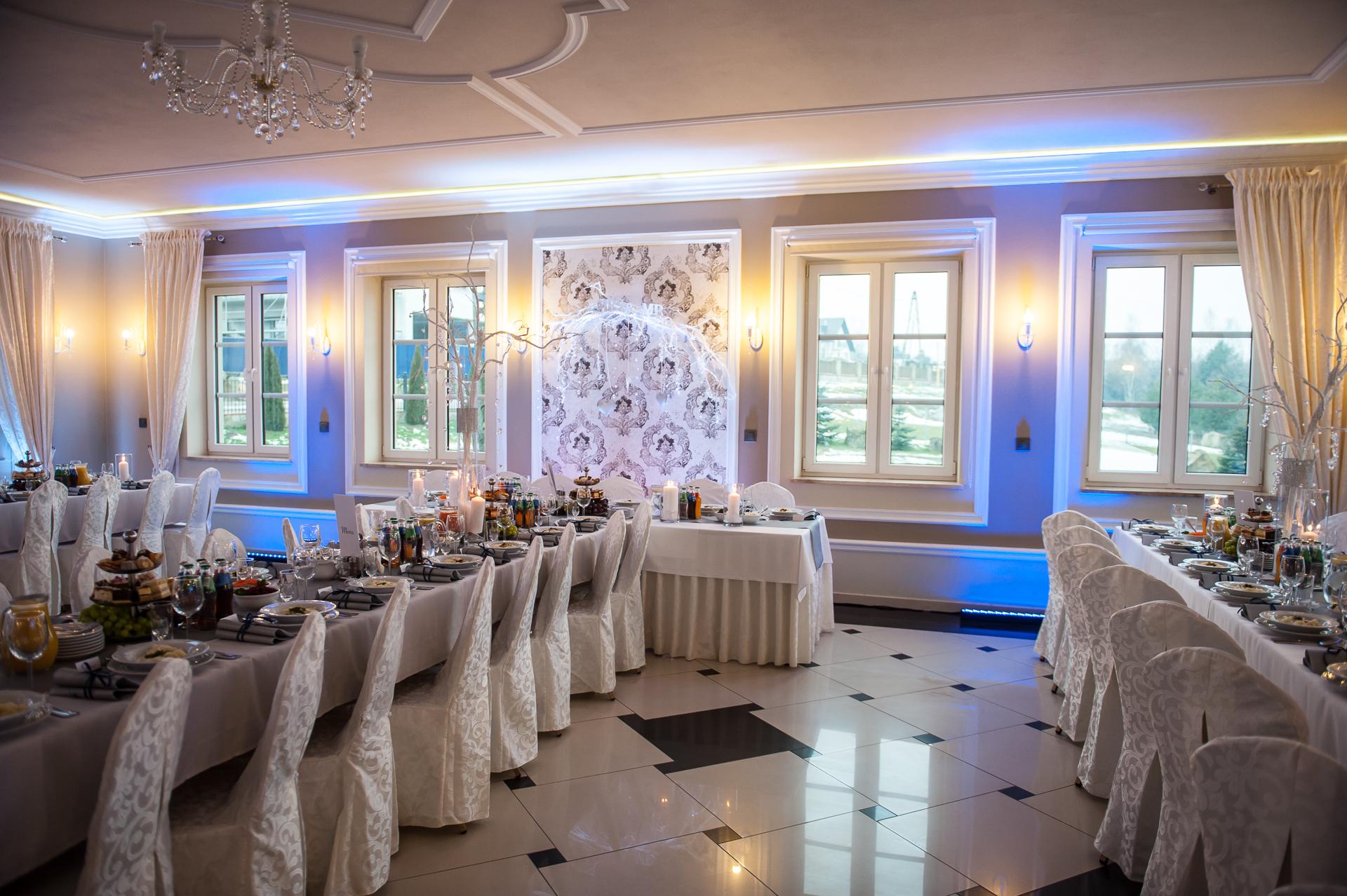 Dekoracja światłem na wesele Tarnów