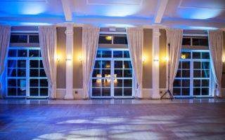 Dekoracja światłem na wesele