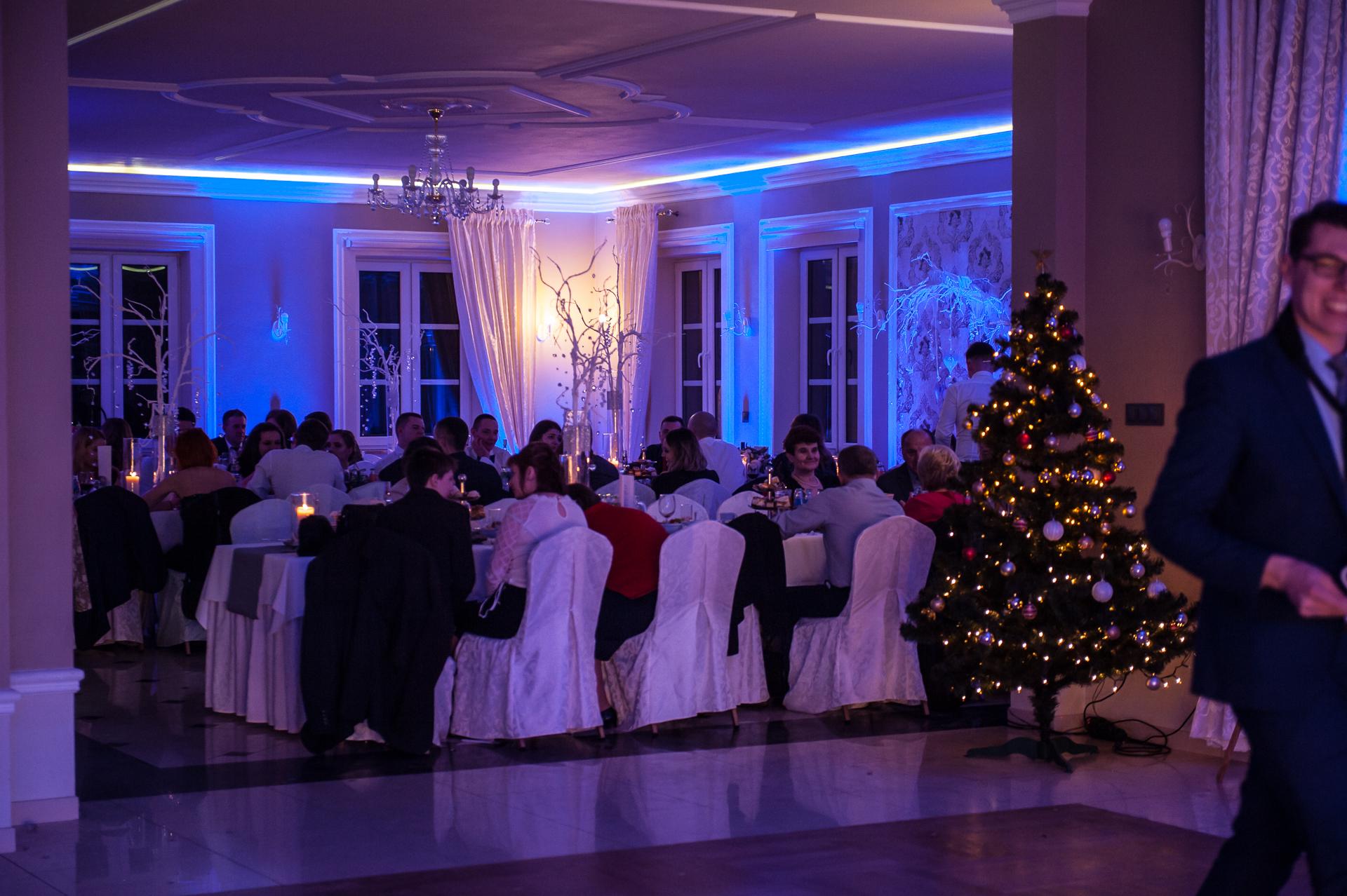Dekoracja światłem - Kompleks Hotelowo Restauracyjny Panorama w Starym Wiśniczu koło Bochni