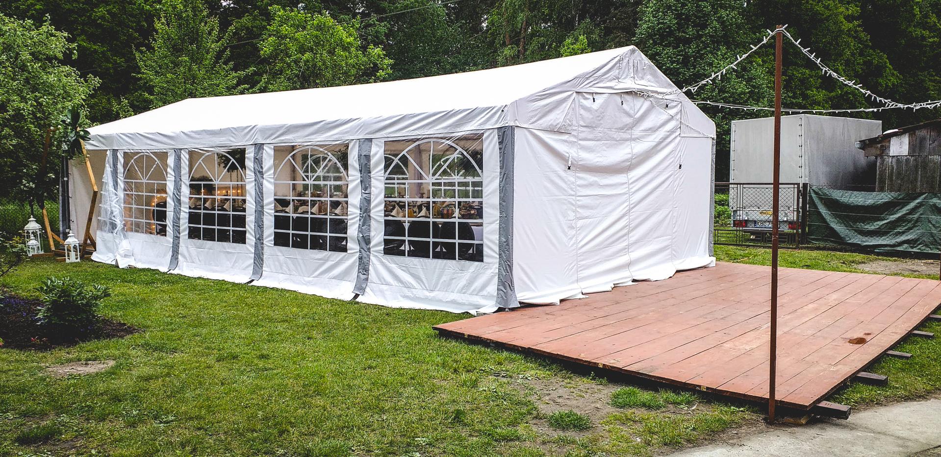 namiot na imprezę