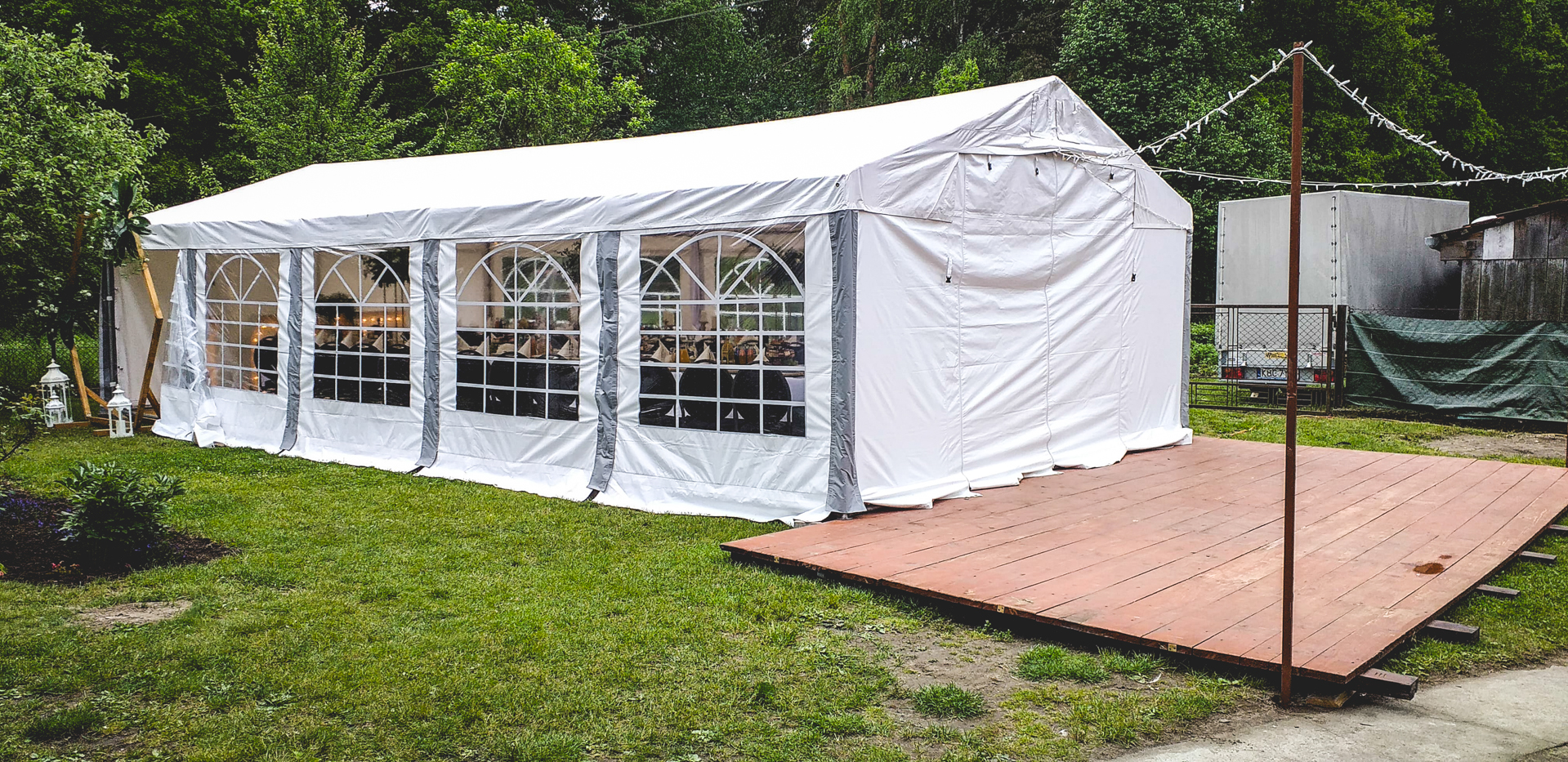 namiot naimprezę