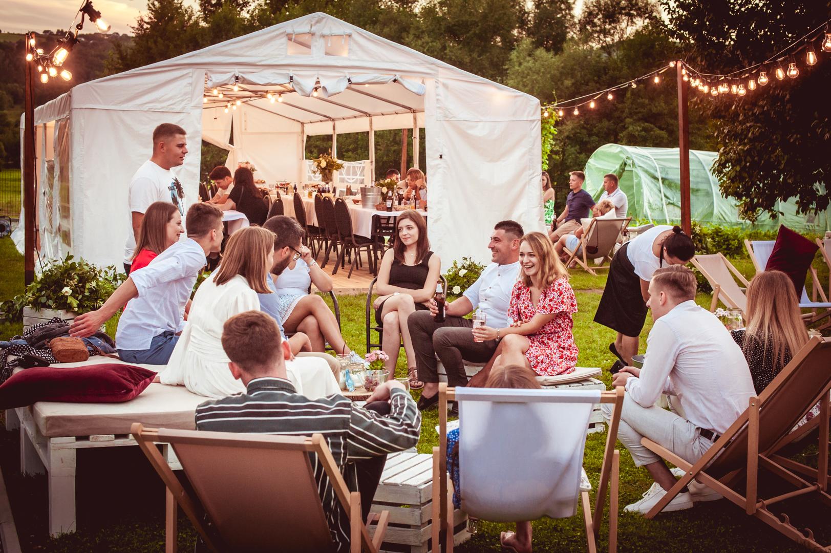 strefa relaksu Kraków, namiot wynajem małopolskie